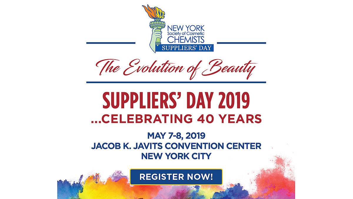 NYSCC Suppliers' Day takes place May 7-8, 2019: COSSMA