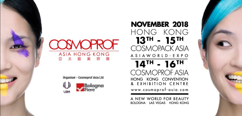 COSMOPROF ASIA 2018 introduces new initiatives that set the